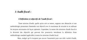 Audit fiscal des pme