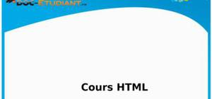 Cours d'informatique : HTML