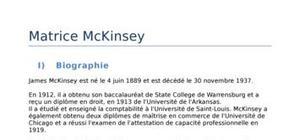 Exposé matrice mckinsey