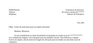 Lettre De Motivation Au Poste D Informaticien