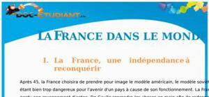 La France dans le monde : Cours Terminale S - L