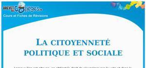 La citoyenneté politique et sociale