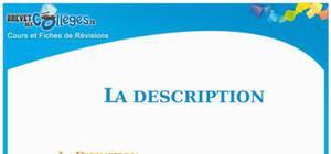 La Description : Fiche De Révision Brevet