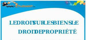 Le Droit sur les Biens : le Droit de Propriété : Cours Droit Première STG