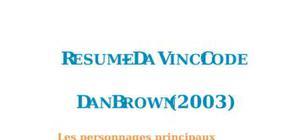 Résumé Da Vinci Code de Dan Brown