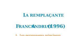 Fiche de lecture : La Remplaçante, Franck Andriat
