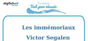 Fiche de lecture : Les Immémoriaux, Victor Segalen