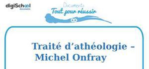 Traité d'athéologie - Michel Onfray