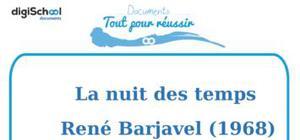 Fiche de lecture : La nuit des temps de René Barjavel (1968)