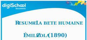 Résumé-La bête humaine- Emile Zola