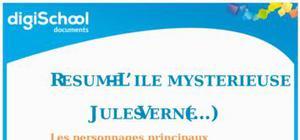 Résumé l'île mystérieuse Jules Verne