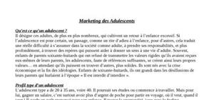 Marketing des adulescents
