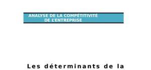 Les déterminants de la compétitivité de l'entreprise