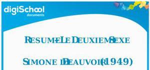 Le Deuxième Sexe - Simone de Beauvoir