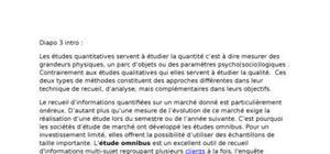 Explication omnibus cours
