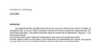 L'évolution des hypermarchés en France