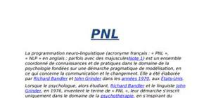 Lela programmation neuro-linguistique