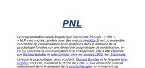 Lela programmation neuro-linguistique