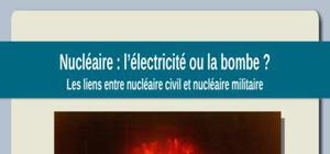Les liens entre le nucléaire civil et le nucléaire militaire