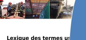 Définitions en transport maritime