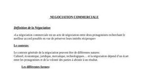 Négociation vente, diverses techniques