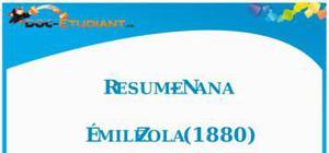 Nana Emile Zola : Fiche de lecture
