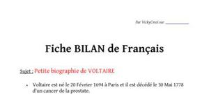 Biographie de Voltaire