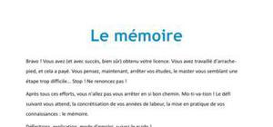 Le mémoire - Méthodologie Bac+5