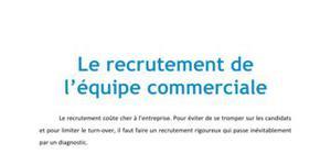 Le recrutement de l'équipe commerciale - BTS MUC