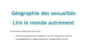 Géographie des sexualités - EOM Brevet pro