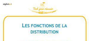 Les fonctions de la distribution - BTS MUC