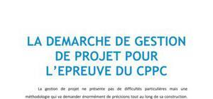 La démarche de gestion de projet pour l'épreuve du CPPC - BTS NRC