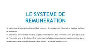 Le système de rémunération - BTS NRC
