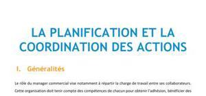 La planification et la coordination des actions - BTS NRC