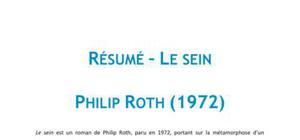 Le Sein, Philip Roth - Résumé