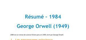 1984, Georges Orwell - Résumé