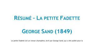 La Petite Fadette, Georges Sand - Résumé