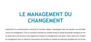 Le management du changement - Management Bac+3