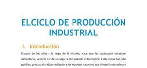 El ciclo de producción industrial
