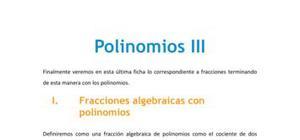 Polinomios III
