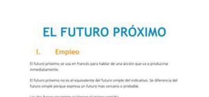 El futuro próximo