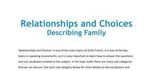 Describing family
