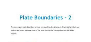 Plate boundaries - Part 2
