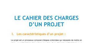 Le cahier des charges d'un projet - Management