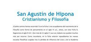 San Agustín de Hipona : cristianismo y filosofía