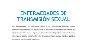 Las enfermedades de transmisión sexual