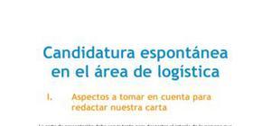Candidatura espontánea - Director asistente de logística
