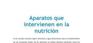 Aparatos que intervienen en la nutrición - Biología