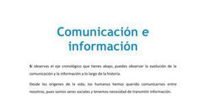 Comunicación e información - Tecnología