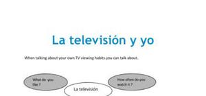 Television - Spanish - AS level
